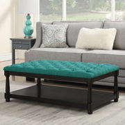 Picket House Furnishings Westfield Table Ottoman - Teal