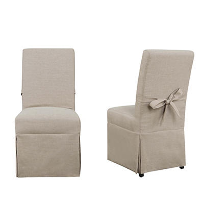 Picket House Furnishings Margo Parsons Chair Set, 2 pk. - Natural