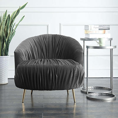Picket House Furnishings Penelope Accent Chair - Slate
