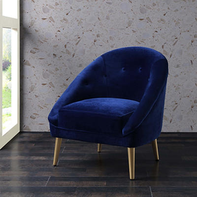 Picket House Furnishings Taryn Accent Chair - Navy Blue