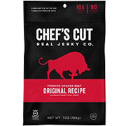 Chef's Cut Real Jerky Co. Original Recipe Smoked Beef, 7 oz.