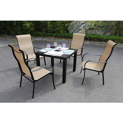 Bellini Home and Gardens Lizy 5-Pc. Dining Set - Ginger