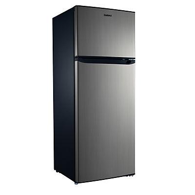Galanz 7.6-Cu.-Ft. Dual-Door Refrigerator - Stainless