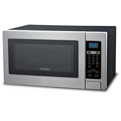 Procter Silex 1.1-Cu.-Ft. 1,000W Microwave Oven - Stainless