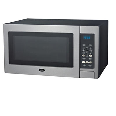 Oster 0.9-Cu.-Ft. 900W Microwave Oven - Stainless