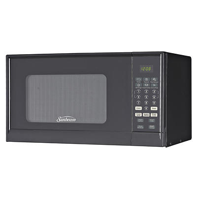 Sunbeam 0.9-Cu,-Ft. 900W Microwave Oven - Black
