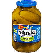 Vlasic Kosher Whole Dill Pickles, 128 oz.