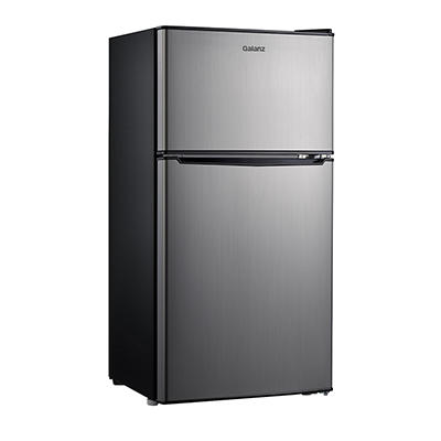 Galanz 4.0-Cu.-Ft. Dual Door Refrigerator - Stainless