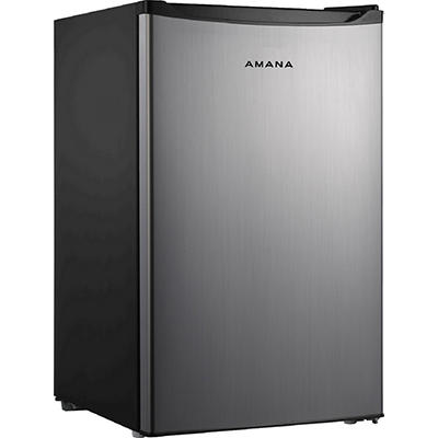Amana 4.3-Cu.-Ft. Single Door Refrigerator - Stainless