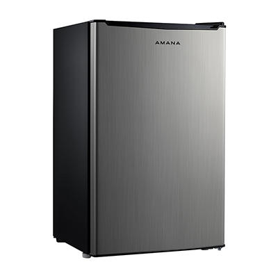 Amana 3.5-Cu.-Ft. Single-Door Refrigerator - Stainless