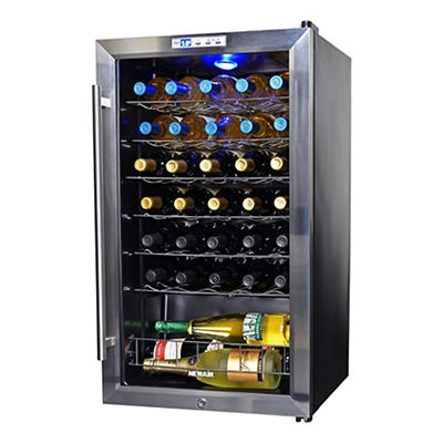 NewAir AWC-330 33-Bottle Compressor Wine Cooler