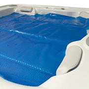 Blue Wave 7' x 8' Spa and Hot Tub Solar Blanket - Transparent Blue