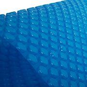 Blue Wave 12-Mil 16' x 32' Rectangular Solar Blanket - Transparent Blue