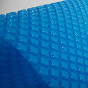 Blue Wave 12-Mil 24' x 40' Rectangular Solar Blanket - Transparent Blue