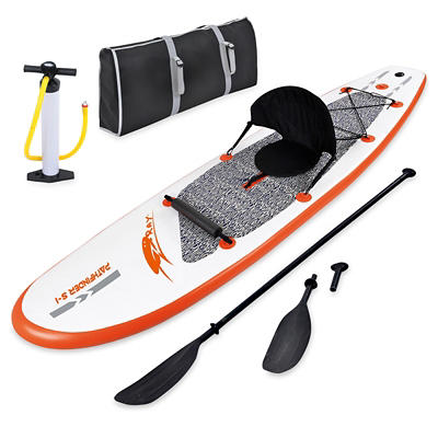 Blue Wave Sports Stingray 10' Inflatable Stand-Up Paddleboard - Orange