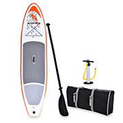 Blue Wave Sports Stingray 11' Inflatable Stand-Up Paddleboard - Orange