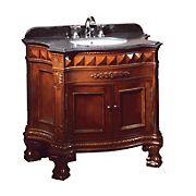 "OVE Decors Buckingham 36"" Bathroom Vanity - Dark Cherry"