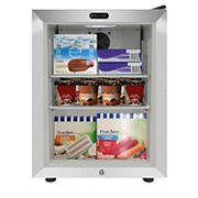 Whynter 1.8-Cu.-Ft. Countertop Reach-In Display Glass Door Freezer - Stainless Steel