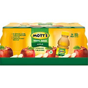Mott's 100% Apple Juice, 24 pk./8 fl. oz.