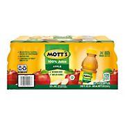 Mott's 100% Apple Juice, 24 pk./8 fl. oz.