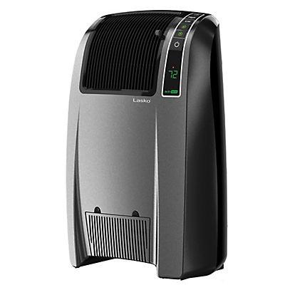 Lasko 1,500W Cyclonic Digital Ceramic Heater - Charcoal/Gray