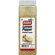 Badia Lemon Pepper, 24 oz.