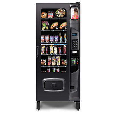 Selectivend Cold and Frozen Food Vending Machine with Credit Card Read