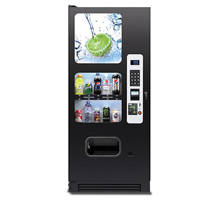 Selectivend Cold Drink Vending Machine with Credit Card Reader