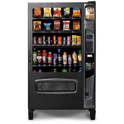 Selectivend DZ5 40-395 Snack and Beverage Vending Machine with Credit