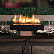 "Bond Lara 20"" Fire Pit Table - Black"