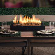 """Bond Lara 20"""" Fire Pit Table - Black"""