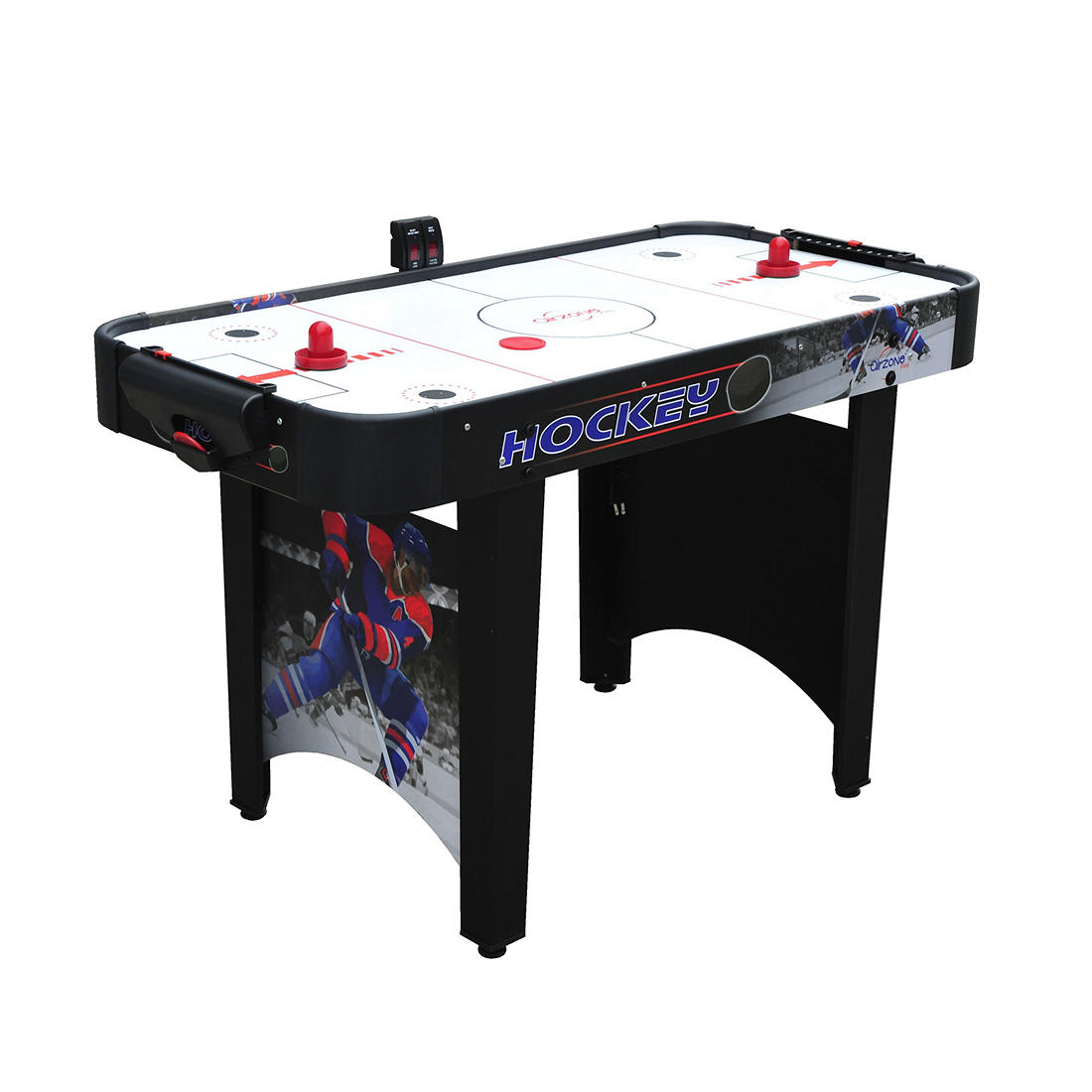 Instant Indoor AirHockey Game Portable Travel Set