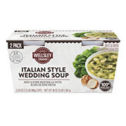 Wellsley Farms Italian Wedding Soup, 2 pk./24 oz.