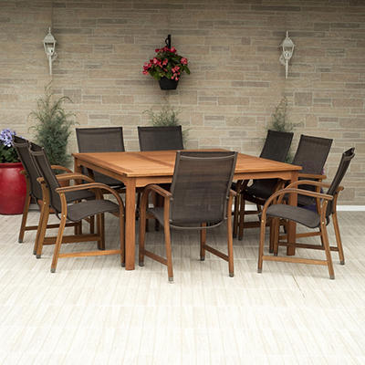 Eucalyptus Patio Dining Sets