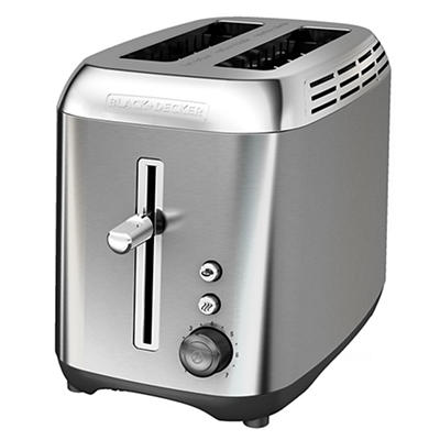 Black & Decker Rapid Toast 2-Slice Toaster - Stainless Steel