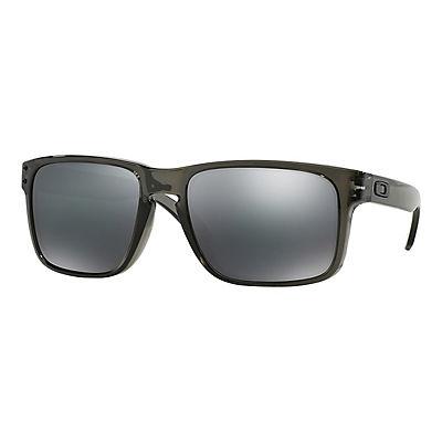 fc0f6c054ee4f Oakley Holbrook Men s Sunglasses - Gray Smoke Frame Black Iridium Lenses -  BJs WholeSale Club