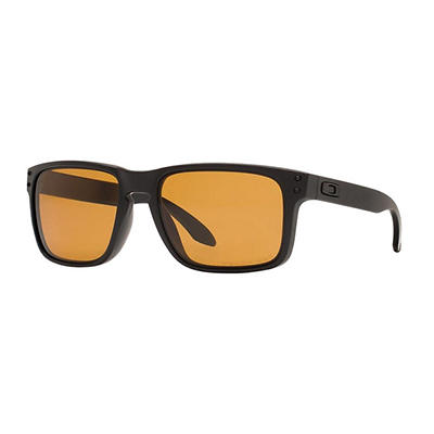 Oakley Holbrook Men's Sunglasses - Matte Black Frame/Bronze Polarized