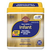 Wellsley Farms Premium Non-GMO Form Milk Based Powder Infant Formula, 48 oz.