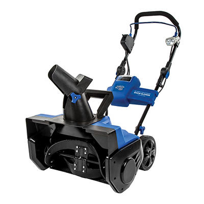 "Snow Joe iON PRO Series 21"" Cordless Snow Blower with Rechargeable Bat"