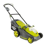 "Sun Joe iON 40V 16"" Cordless Lawn Mower with Brushless Motor"