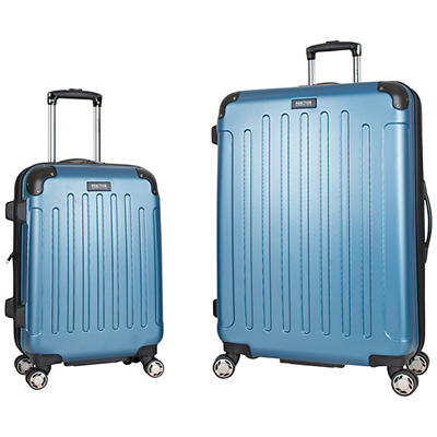"Kenneth Cole Reaction 20"" and 28"" Hardside Luggage Set - Ice Blue"
