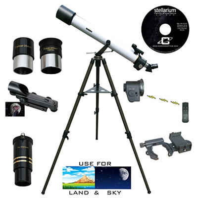 Cassini 800mm x 72mm Refractor Telescope with Electronic Focus