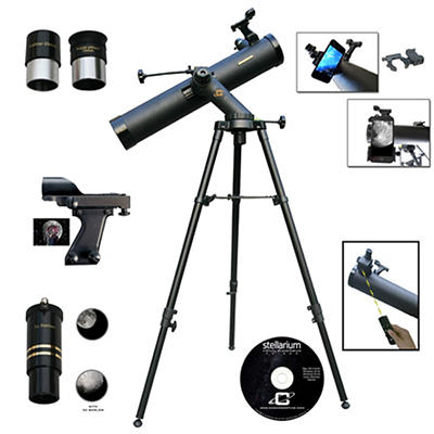 Cassini 800mm x 80mm Telescope with Electronic Focus