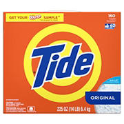 Tide Laundry Detergent Powder, Original, 160 Loads, 225 oz.