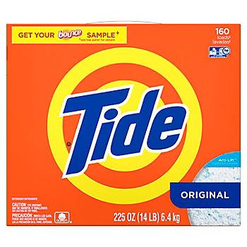 Tide Laundry Detergent Powder, Original, 160 Loads, 225 oz  - BJs
