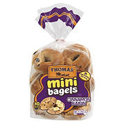 Thomas' Cinnamon Raisin Mini Bagels, 10 ct.