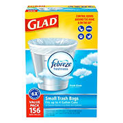 Glad 4-Gal. Small Trash Bags, 156 ct.