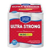 Berkley Jensen Ultra Strong 173-Sheet 2-Ply Premium Bath Tissue, 36 pk.