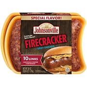 Johnsonville Firecracker Spicy Sausage, 10 ct.