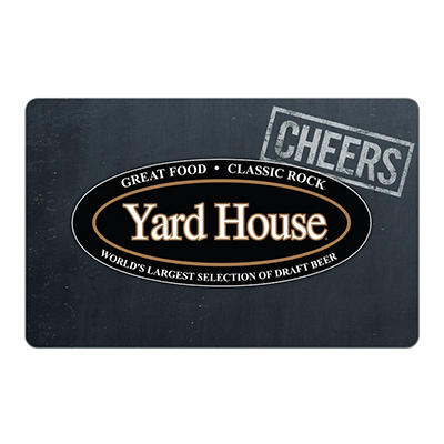 $25 Yard House Gift Card